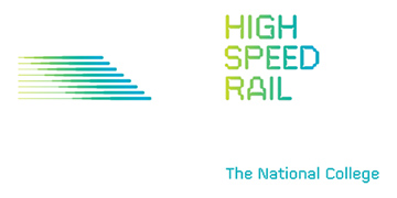 The National College of High Speed Rail logo