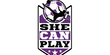 SHE CAN PLAY  logo