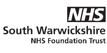 South Warkwickshire NHS Foundation Trust logo